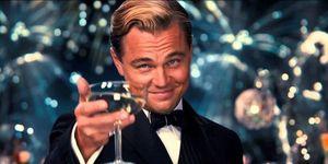 Champagne glas Leonardo Di Caprio