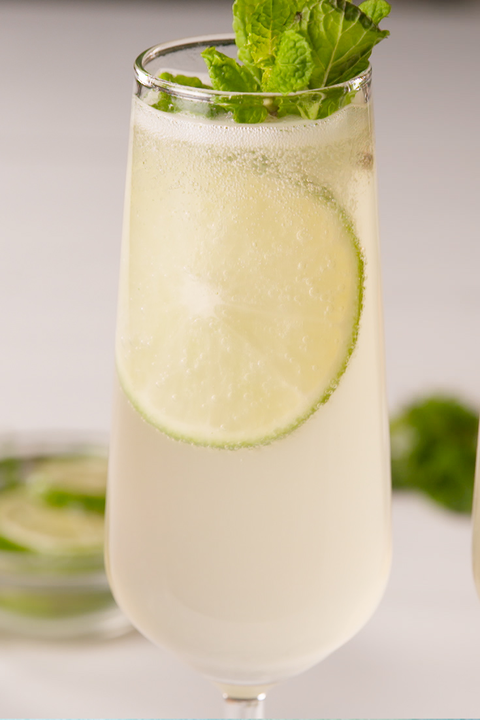 champagne mule cocktail