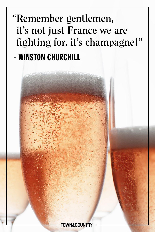 champagne quote