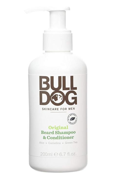 Bulldog champú barba, bulldog, cuidados barba