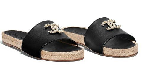 Footwear, Shoe, Beige, Sandal, Mary jane, Wedge,