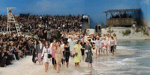 Chanel beach show