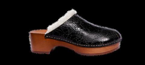 Footwear, Shoe, Clog, Brown, Tan, Outdoor shoe, Beige,