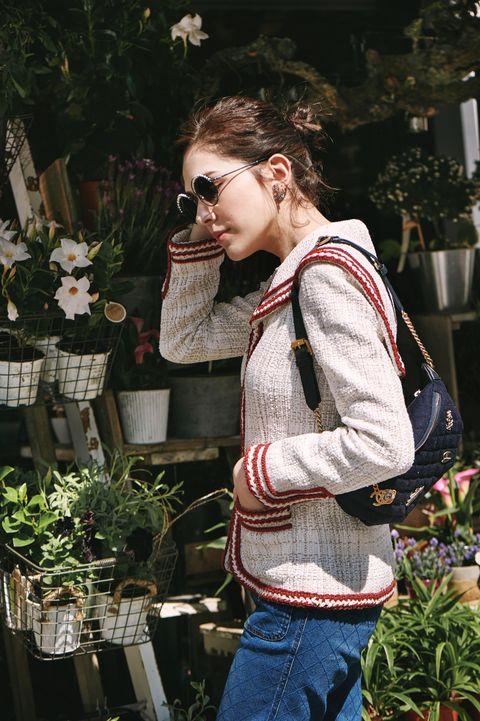 Chanel, 包包, 太陽眼鏡, 女星私服, 女星穿搭, 巴黎, 街拍, 許瑋甯, 香奈兒