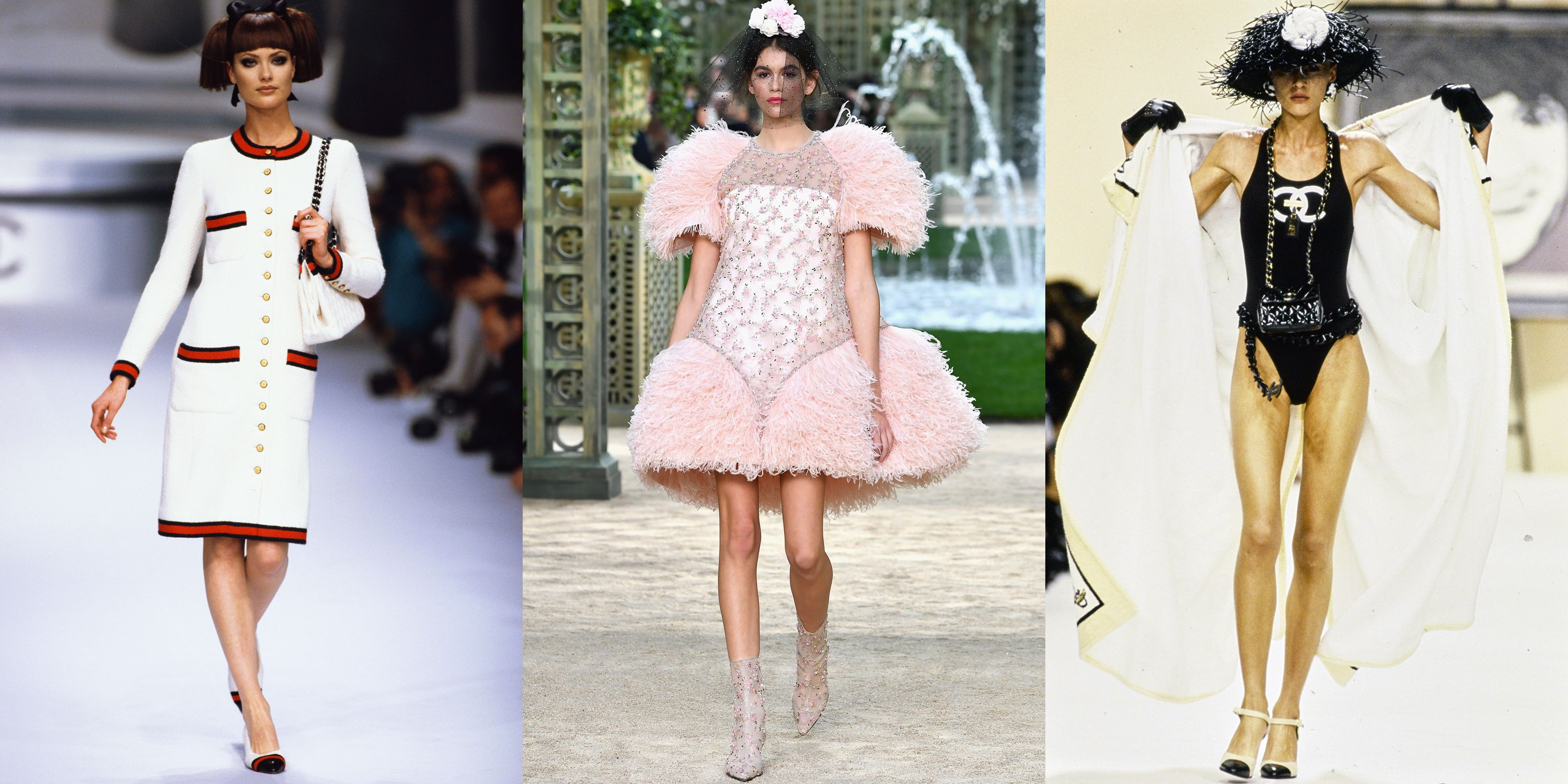 A Look Back at Karl Lagerfeld's Most Iconic Chanel Runway Looks