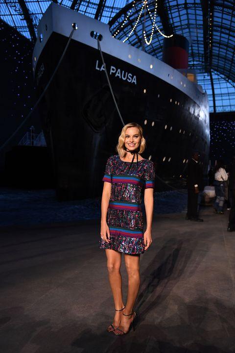 2716cbfa Inside Chanel's nautical-themed Cruise 2018 show