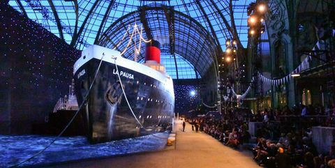 a611916eef5c Inside Chanel's nautical-themed Cruise 2018 show