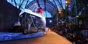 Chanel cruise ship show 2018 - La Pausa