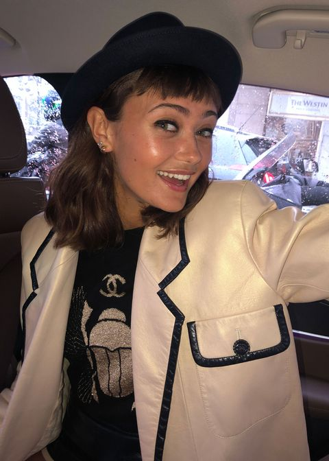 Inside the Chanel couture show with Ella Purnell