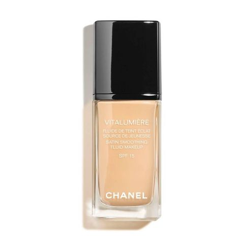 chanel foundation droge huid