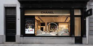 De Chanel fragrance & beauty boutique in Antwerpen