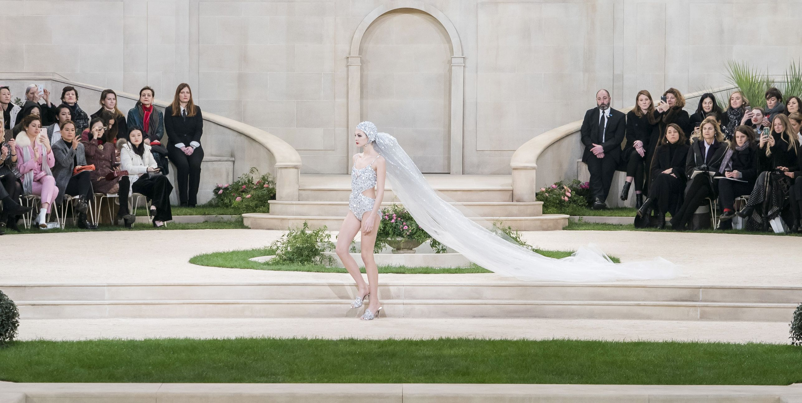 Chanel's Take on The Haute Couture Bride Just Gave Beach Weddings a Whole New Look