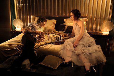 Knightley in the Coco Mademoiselle Intense campaign