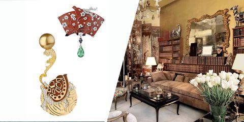 Chanel Coromandel Screen Jewelry