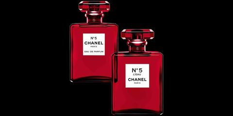7017d21d8ab8 Chanel No. 5 limited-edition red bottle, Christmas 2018