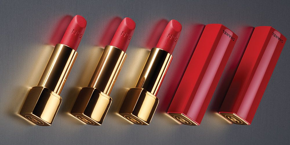 Chanel N°5 Rouge Allure Velvet lipstick - Christmas make-up collection 2018