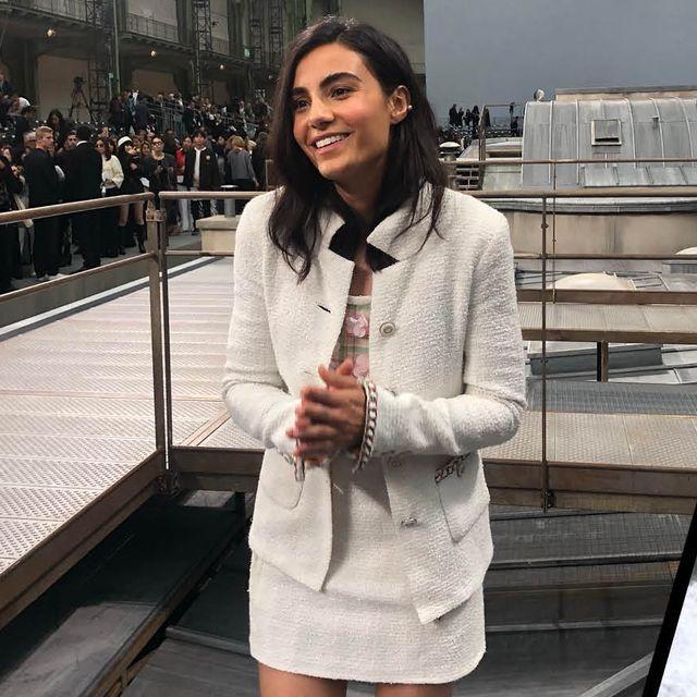 Aiysha Hart Chanel show diary