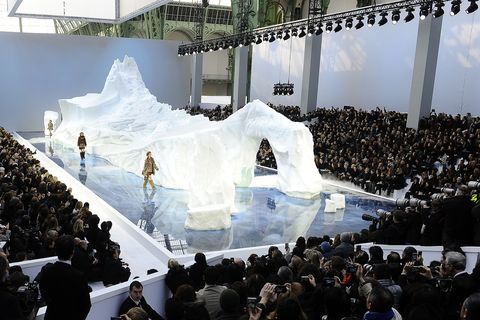Chanel, Ready-to-wear Fashion Show, fall-winter 2010 in Paris, France on March 09th, 2010