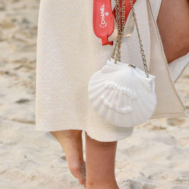 White, Fashion accessory, Pink, Style, Bag, Fashion, Natural material, Khaki, Beige, Peach,