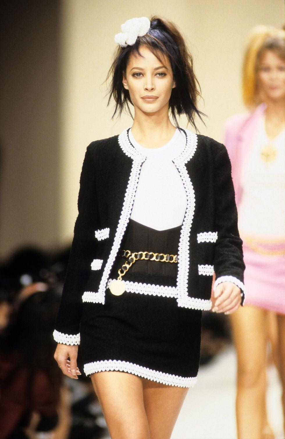 Chanel Lente/Zomer 1994 show Karl Lagerfeld