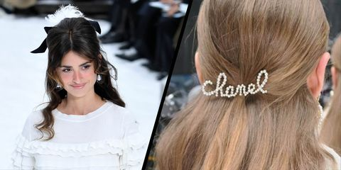 b3b785fc525 Chanel autumn winter 2019 hair accessories