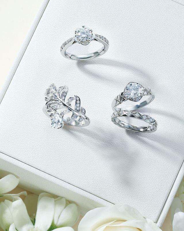 ステータスブランドのときめき婚約指輪♡<シャネル編>