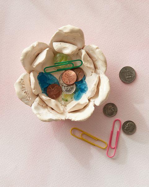 flower petal change bowl