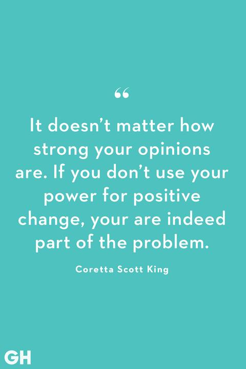 change quote by coretta scott king
