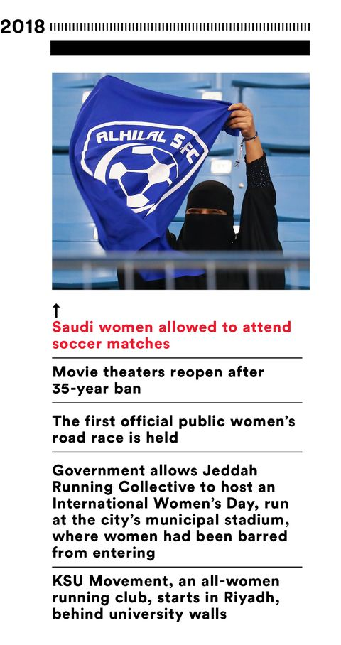 87013daaadf Women in Saudi Arabia Are Running—and They're Not Going to Stop