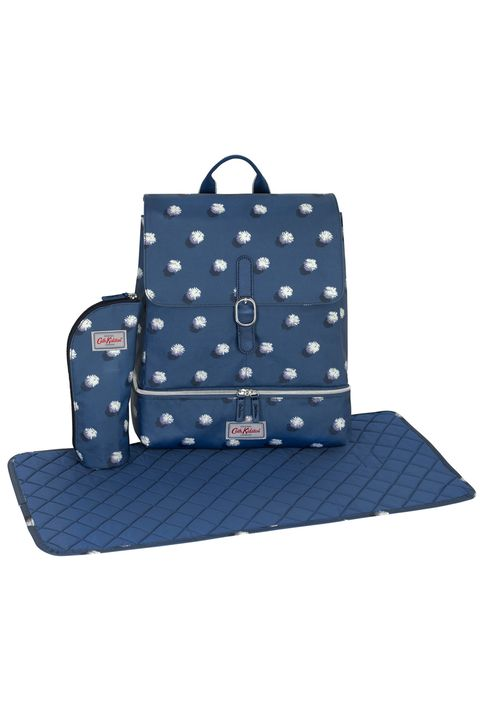 Bag, Blue, Pattern, Handbag, Design, Diaper bag, Fashion accessory, Polka dot, Satchel, Luggage and bags,