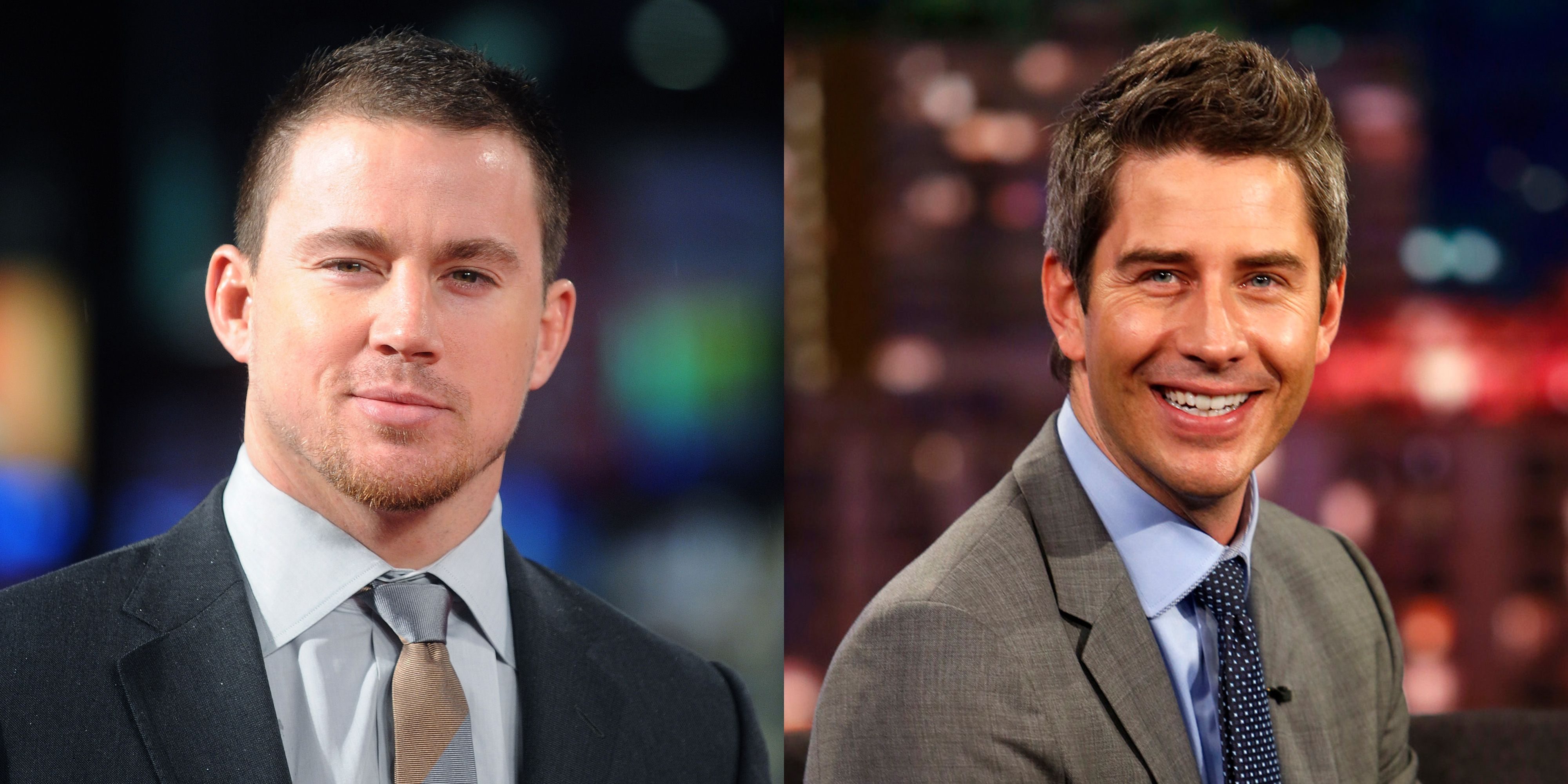 Bachelor Arie Luyendyk Jr. Meets Channing Tatum at the Race Track