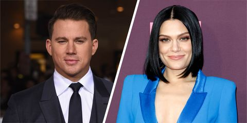 Channing Tatum and Jessie J just went Instagram grid official