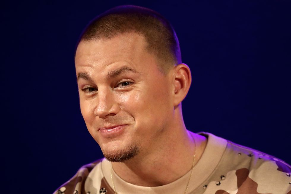 Channing Tatum Posted a Naked Selfie Showing Off His Six-Pack Abs