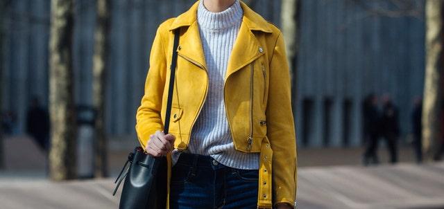 zara chaqueta amarilla viral vecina rubia chiara ferragni