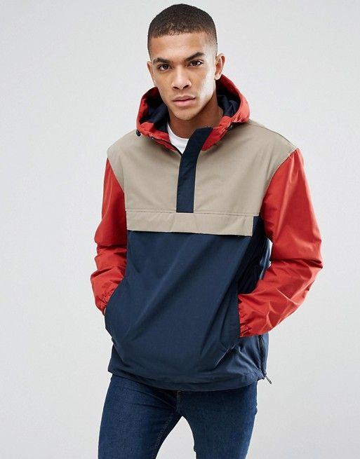canguro asos ropa hombre jack and jones