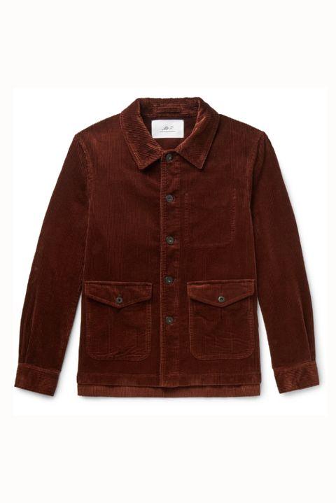 Chaqueta de pana marrón de Mr.P (111 euros)
