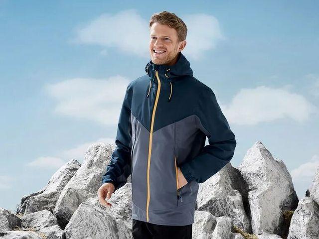 chaqueta impermeable de lidl