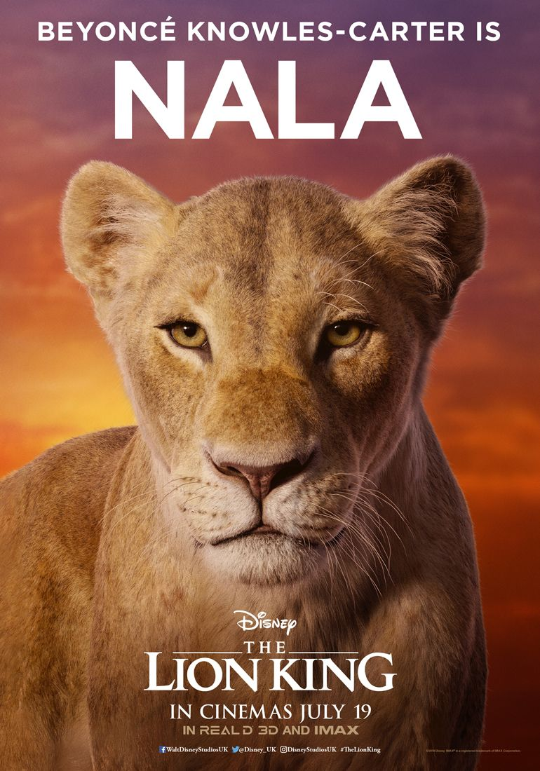 Lion King Beyonce The Lion King Unveils Beyonce As Nala In
