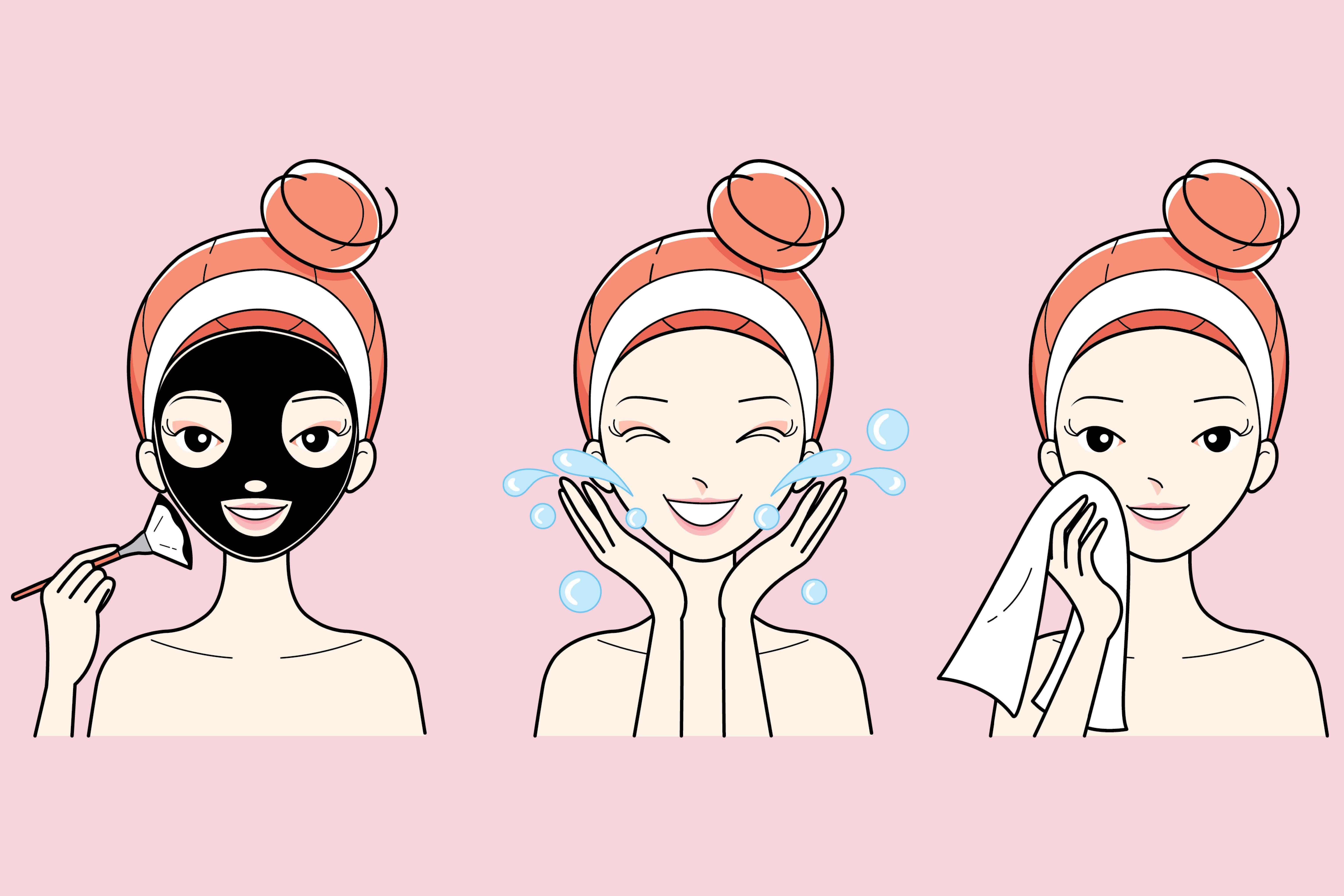k beauty charcoal mask