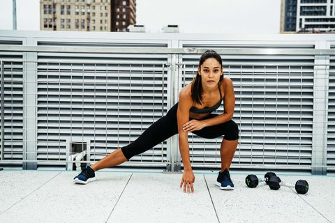 Weights, Exercise equipment, Kettlebell, Leg, Shoulder, Human leg, Arm, Physical fitness, Thigh, Knee,