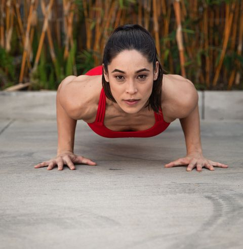 Physical fitness, Beauty, Arm, Press up, Leg, Shoulder, Joint, Photography, Human body, Stretching,