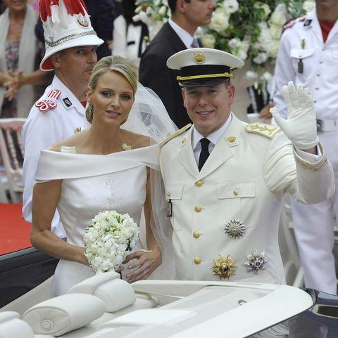 Alberto y Charlene de Mónaco aniversario boda