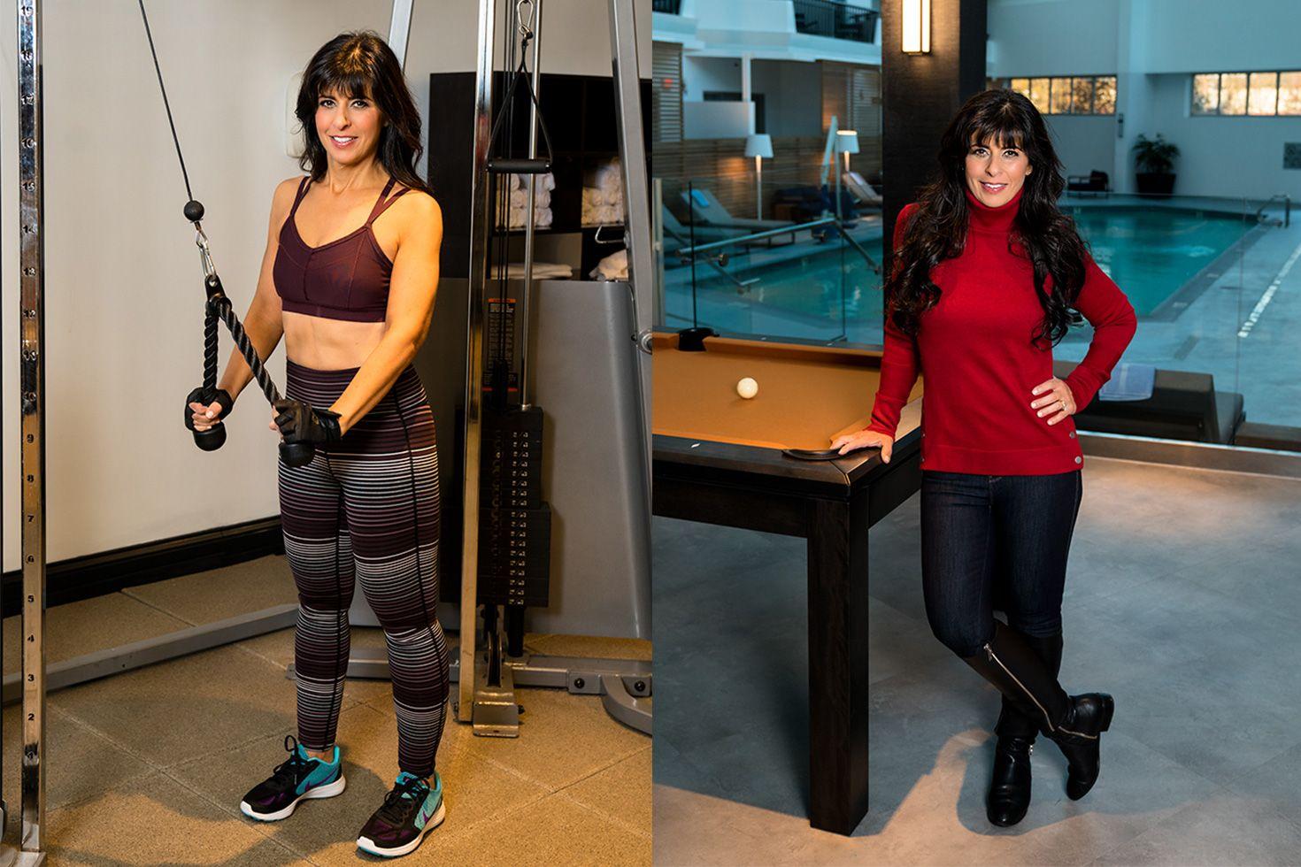 Charlene Bazarian workout photo