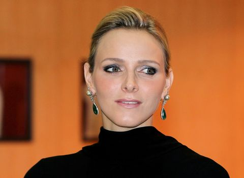 Charlene Wittstock the fiancee of Prince