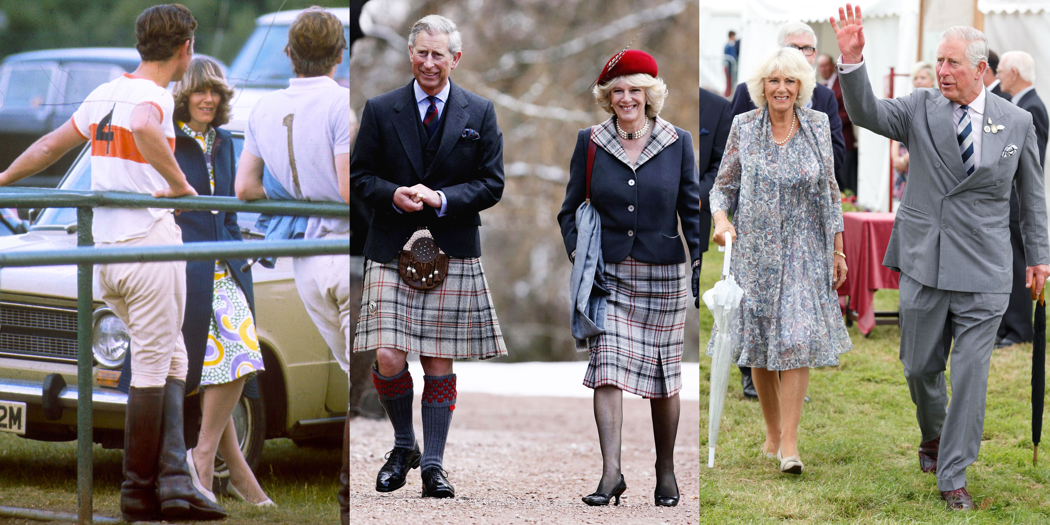 A Look Back at Prince Charles and Camilla's Relationship Through the Years