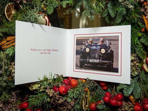 Prince of Wales Christmas card