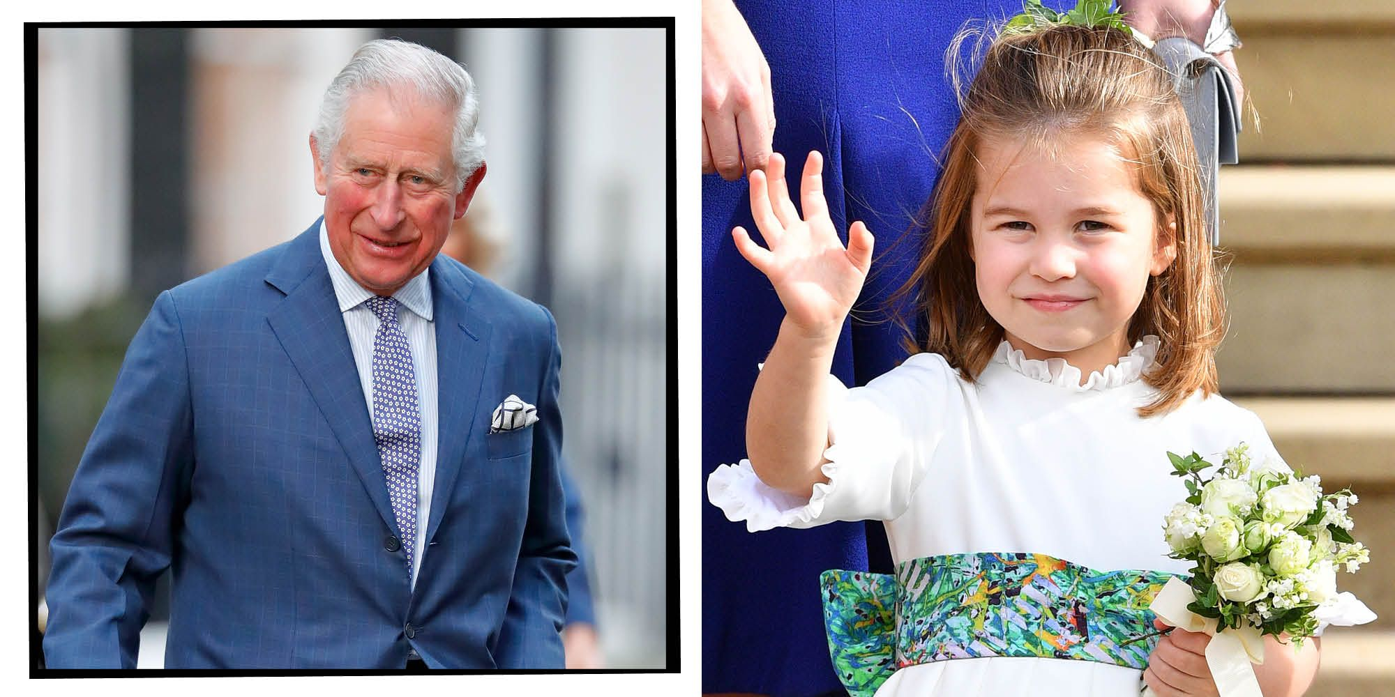 Prince Charles and Princess CHarlotte | ELLE UK