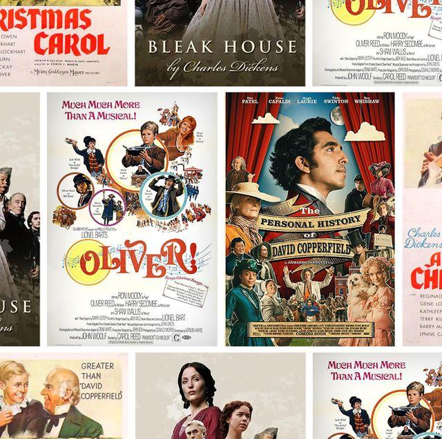 charles dickens movie adaptations