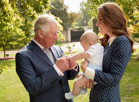 Prince Charles at 70 - royal family photos - Kate and Prince Louis