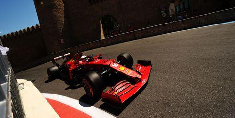 f1 grand prix of azerbaijan final practice